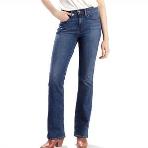 Levi's denim perfectly slimming boot cut 512 jeans